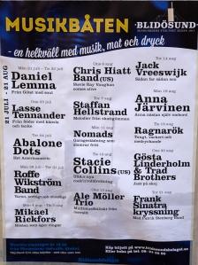Stockholm Music Poster